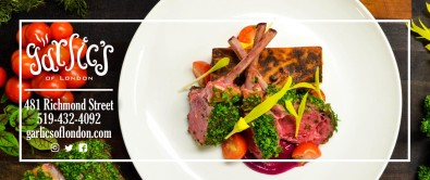 New & Exciting Experiences at Garlics of London