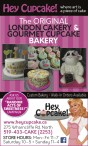 The ORIGINAL LONDON CAKERY & GOURMET CUPCAKE BAKERY