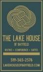 THE LAKE HOUSE OF BAYFIELD  BISTRO • CONFERENCE • SUITES