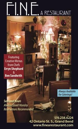 Creative Menus from Chefs Erryn Shephard & Ben Sandwith at FINE